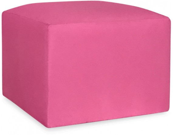 Revest. Puff 0.60x0.60 oxford rosa chiclete