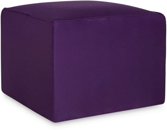 Revest. Puff 0.60x0.60 oxford roxo
