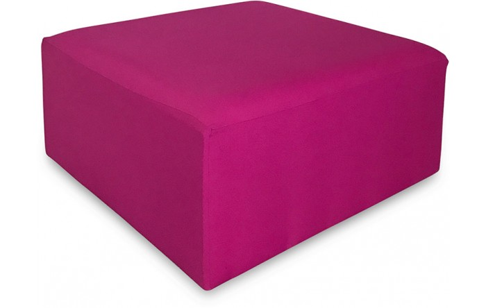 Revest. Puff 1.00x1.00 Pink Escuro