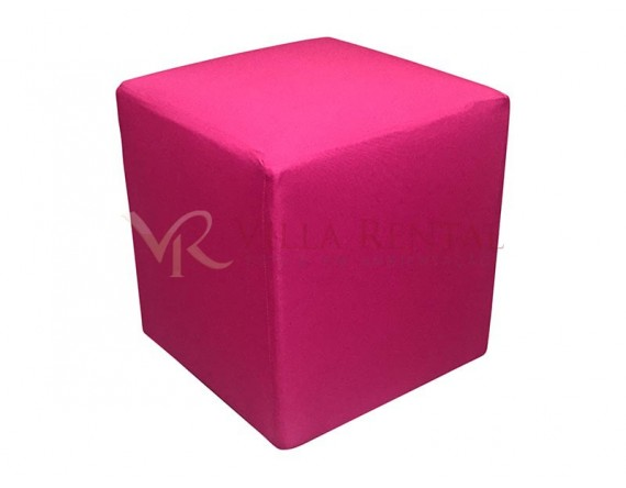 Revest. Puff 0.40x0.40 Oxford Pink