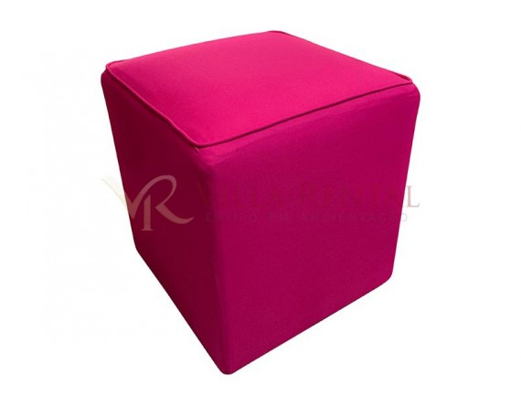 Revest. Puff 0.40x0.40 Oxford Pink Escuro