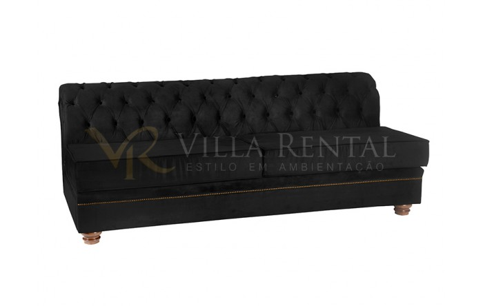 Sofá Chesterfield Black Centro